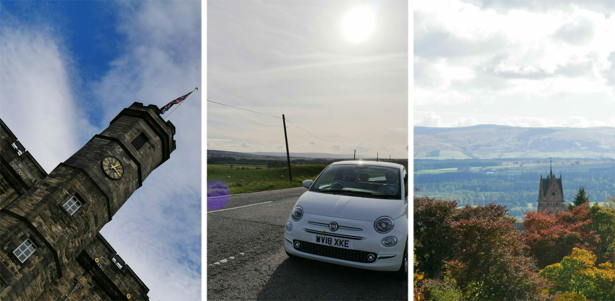 The Perfect Weekend Road Trip from Edinburgh (Itinerary + Guide) via @girlsgonelondon