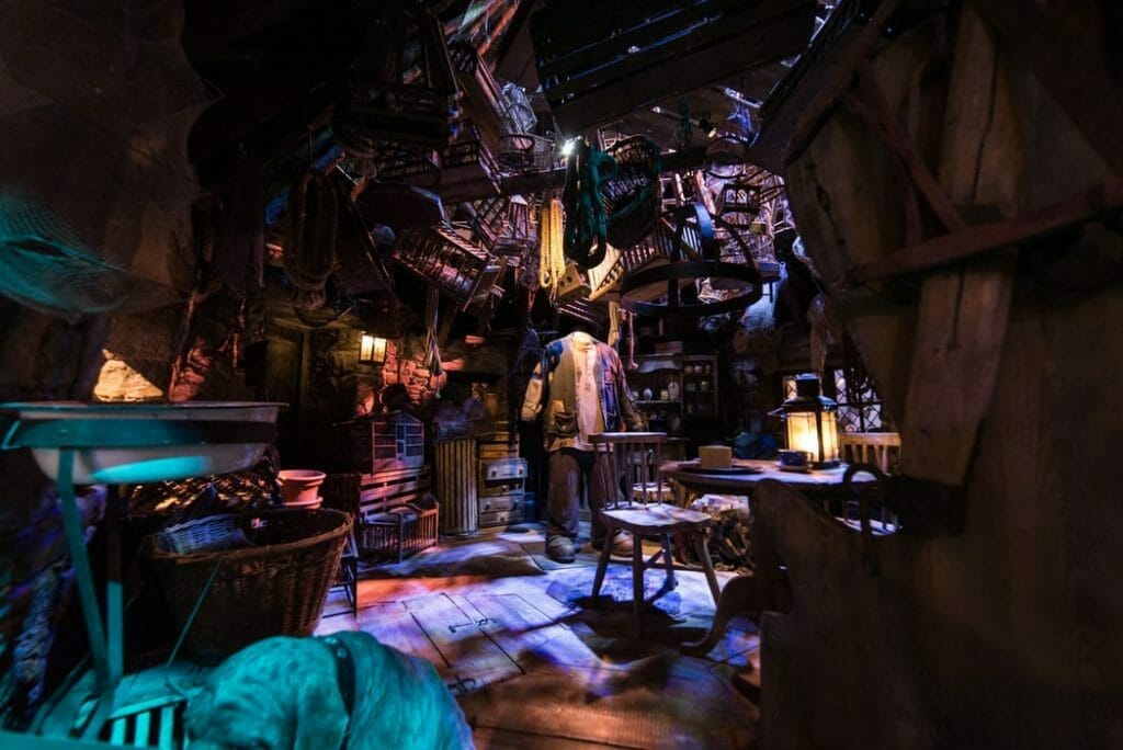 A room in the Harry Potter Studio Tour