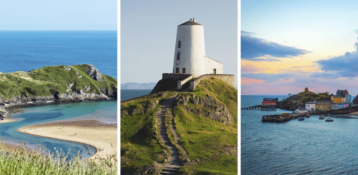 11+ Charming Destinations Along the Wales Coast Path (2021) via @girlsgonelondon